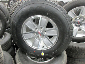 gmc 17'' wheels and tires