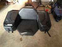 ATV Seat with mounting Ubolts and keys for locks