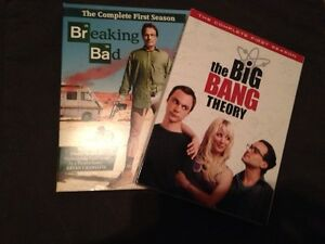 Breaking Bad + Big Bang Theory's first season/saison 1