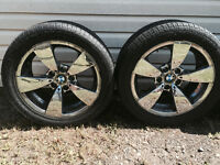 Good BMW rims and tires (17 inch Ecoplus tires)