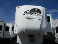 2010 Silverback 35TS(3 slides) by Cedar Creek Fifth Wheel 35ft