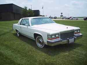 WANTED: 1977 to 1987 Cadillac Coupe DeVille Fleetwood Brougham