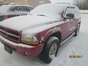 JUST IN FOR PARTS! 2001 DODGE DURANGO @ PICNSAVE WOODSTOCK!
