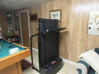 Norditrack ski machine & Pro form fold up treadmill