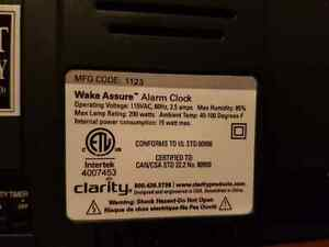 Wake assure alarm clock Stratford Kitchener Area image 6