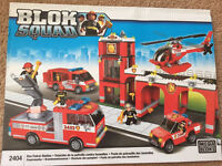 Mega blood Blok Squad Buildable Fire patrol set