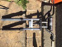 Crf70 forks pit bike