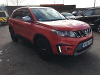 2016 Suzuki Vitara 1.4 Boosterjet S ALLGRIP 5dr Petrol red Manual