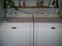 JUST IN TIME !  MAYTAG - Clothes Washer and Dryer