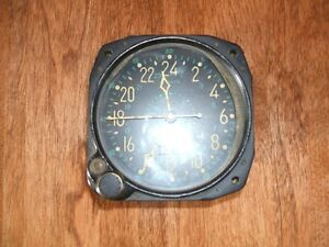 Waltham 8 day Aircraft Clock