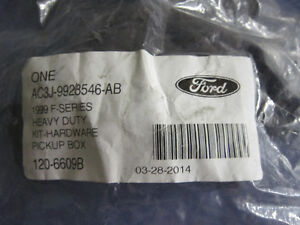 Sealed Ford Cargo Mounting Kits. Bedliner Tailgate Accessory kit
