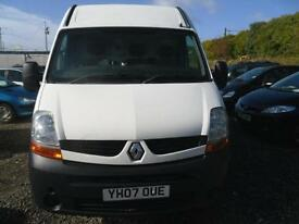 2007 RENAULT MASTER LM35 DCI 100 LWB SEMI HIGH TOP
