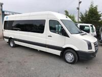 Volkswagen crafter coach extra lwb automatic wheel chair access