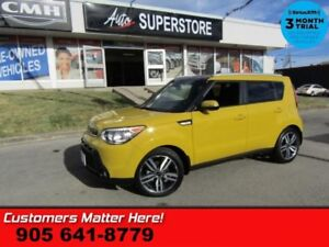 2014 Kia Soul SX Luxury  LEATHER NAV ROOF PANO-ROOF CAM HS P/SEA