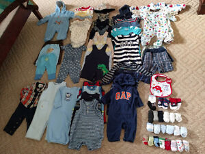 Baby Clothes Lot (Boy)