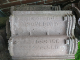 Redland grovebury roof tiles new never used 205