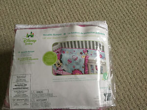 Minnie Mouse Bumper pads-brand new still in bag