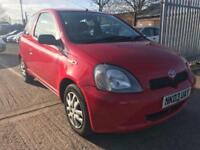 Toyota Yaris 1.3 VVT-i 3 DR MANUAL BARGAIN IMMACULATE INSIDE/OUT CHEAP CAR