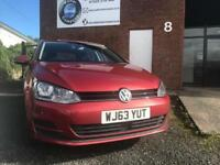 Volkswagen Golf 1.6TDI 2013 DSG AUTOMATIC - FULL MAIN DEALER HISTORY - 1 OWNER