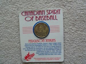 SPIRIT OF BASEBALL COIN - LEAVING CANADA MUST SELL