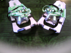 SET OF LITTLE BEAR SNOW SHOES (AS NEW)