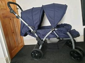 Cuggl Forward Facing Twin (Dual) Pushchair (Pram)