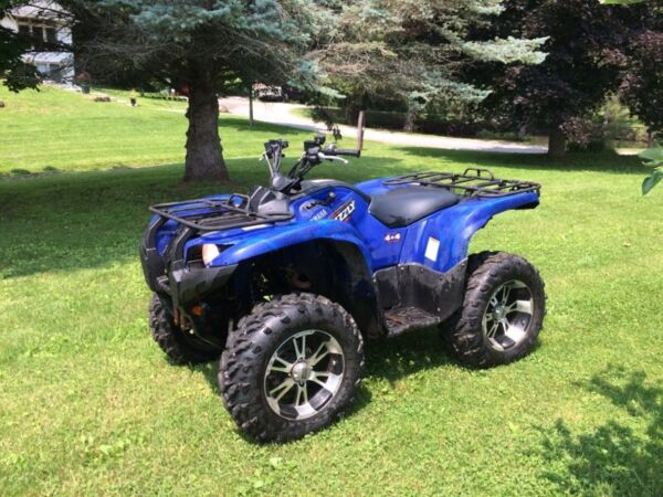 Used 2008 Yamaha grizzly 700