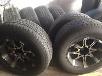 FORD EXCURSION TIRES AND RIMS