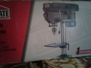 "JOBMATE 8"" bench drill press  Never taking out of box"