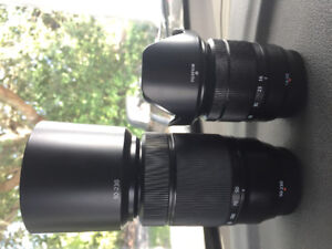 Fuji lenses 16-50mm f3.5-5.6 and 50-230mm f4.5-6.7 for sale