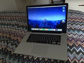 MacBook Pro 128GB SSD 750GB HDD 2.8GhZ 8GB Ram