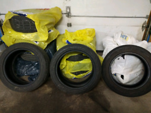 ***SUMMER TIRES - CONTINENTAL & BRIDGESTONE
