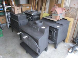 Good used  Wood Stoves  30 choices Woodstoves  OS