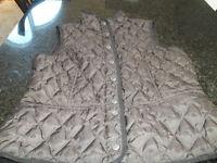 Eddie Bauer goose down size M chocolate brown vest $30