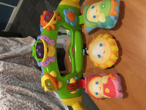 Tummy time and back time 2in1 toy