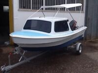 Dijon 15 fishing or day boat