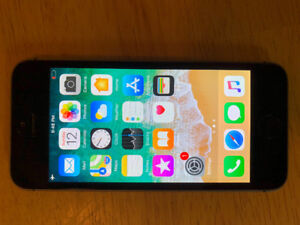 Unlocked iPhone 5s and case