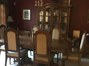 10piece solid wood dining room set