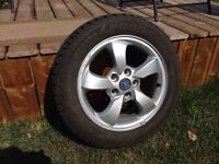 205 55 R16 Winter Studded Tires & Rims
