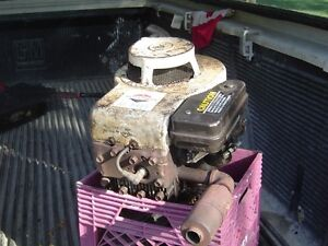 8 Hp Briggs and Stratton Verticle engine