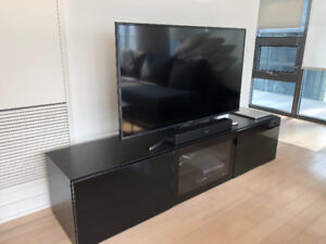 TV unit with drawers and door BESTA by IKEA