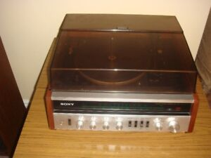 SONY HP-510 Stereo System – FM/AM Radio, DUAL 1210 Turntable