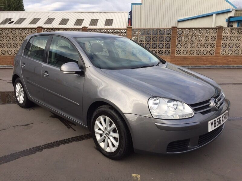 2007/56 VOLKSWAGEN GOLF 1.6 MATCH PETROL MANUAL 5dr # 2 OWNERS # FSH # HPI CLEAR