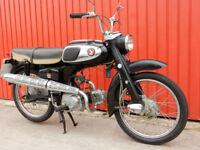 HONDA S65 1965 MOT'd JANUARY 2019
