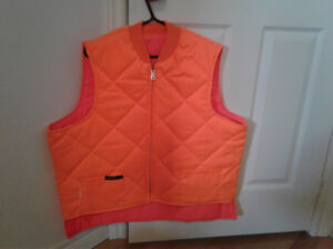 Hunter Orange Hunting Vest