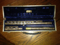 Linton Flute Musical Instrument, student band quality