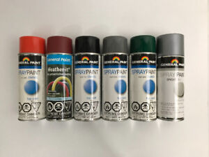 Spray Paint - Various Colours/Types