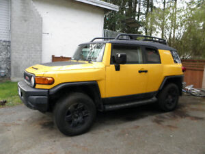 07 FJ Cruiser (needs TLC, but runs strong)