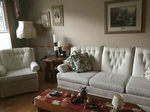 Sofa and chair with well built frame Strathcona County Edmonton Area image 6