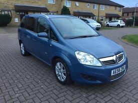 2008 Vauxhall/Opel Zafira 1.8i Design + New Cambelt and FuLL MOT